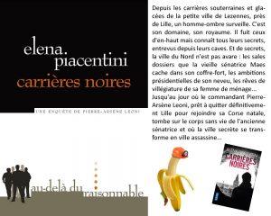 Couverture Carrières noires Elena Piacentini