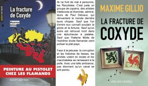 Couverture La fracture de Coxyde Maxime Gillio