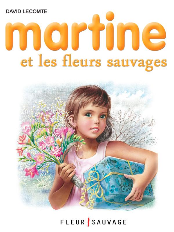 Détournement Martine fleurs sauvages par Un K à part