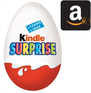 Détournement Kindle Surprise Amazon par Un K à part