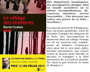 Couverture Le village des ténèbres David Coulon