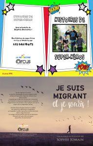Couverture migrants Envie de Livres 2017