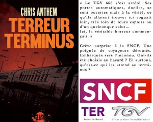 Couverture Terreur Terminus Chris Anthem L'atelier Mosésu collection Slash