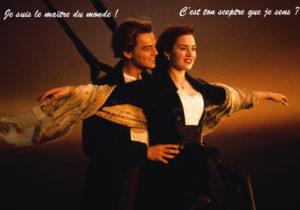 Titanic DiCaprio Winslet gros sceptre