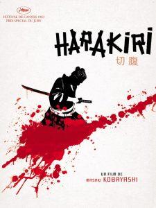 Affiche film Harakiri Seppuku