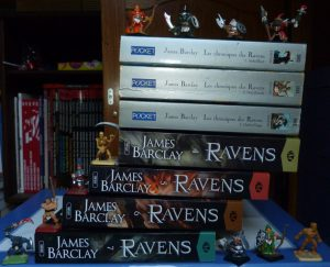Collection Chroniques des Ravens James Barclay