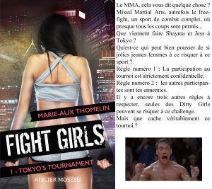 Couverture Fight Girls Tokyo tournament Marie-Alix Thomelin