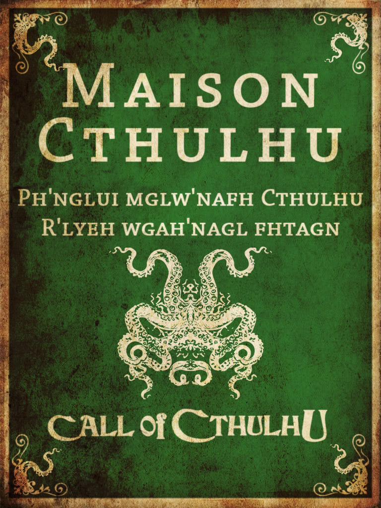 Game of Thrones L'Appel de Cthulhu