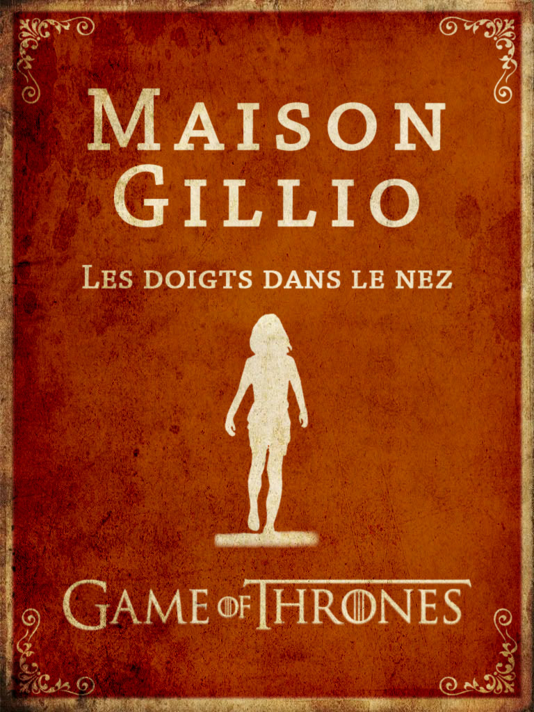 Game of Thrones Doigts dans le nez