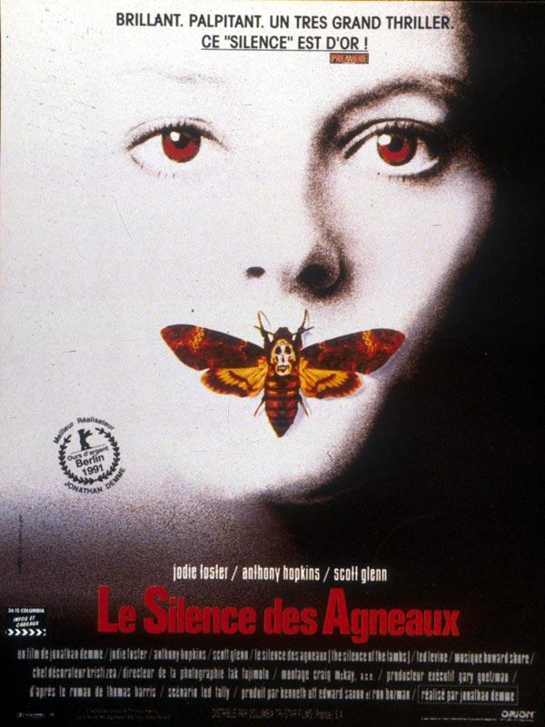 Affiche film Silence des Agneaux