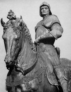 Condottiere Colleoni Verrochio