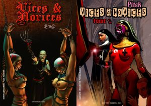 Couverture Vices et novices Pitek