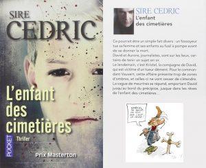 Couverture L'enfant des cimetières Sire Cedric Pocket