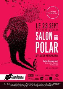 Affiche salon du polar Templemars 2017