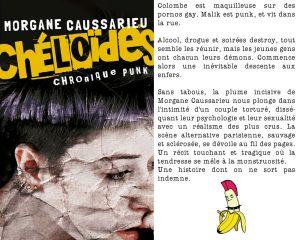 Couverture Chéloïdes Chronique punk Morgane Caussarieu