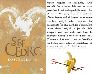 Couverture Du feu de l'enfer Sire Cedric Presses de la Cité collection Sang d'encre