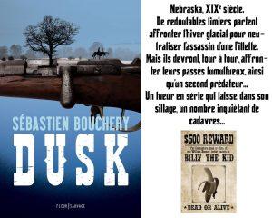Couverture Dusk Sébastien Bouchery