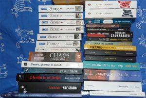 Achats livres Halliennales 2017