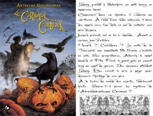 Couverture Le Nibelung Le Carnaval aux Corbeaux Anthelme Hauchecorne