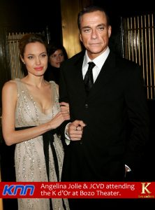 Angelina Jolie et JCVD par Un K à part