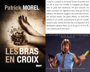 Couverture Les bras en croix Patrick Morel L'atelier Mosesu collection Parabellum