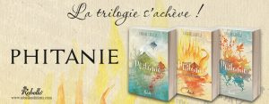 Trilogie Phitanie de Tiphaine Croville aux éditions Rebelle