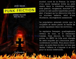 Couverture Punk Friction Jess Kaan édition Lajouanie