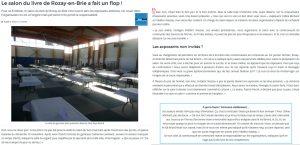 Salon sans auteurs de Rozay-en-Brie