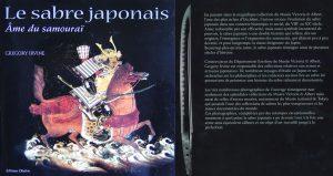 Couverture Le sabre japonais Gregory Irvine