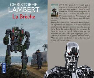 Couverture La Brèche Christophe Lambert