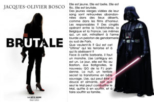 Couverture Brutale Jacques Olivier Bosco