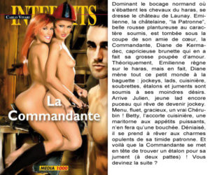Couverture La Commandante Carlo Vivari Media 1000
