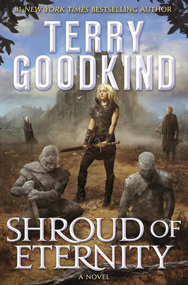 Couverture Shroud of Eternity Terry Goodkind