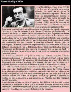 Aldous Huxley hoax