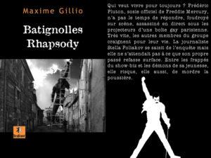 Couverture Batignolles Rhapsody Maxime Gillio