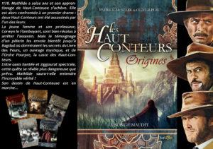 Couverture Haut-Conteurs Origines Songe maudit Patrick Mc Spare Scrineo