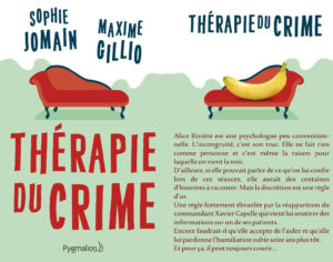 Couverture Thérapie du crime (Sophie Jomain Maxime Gillio