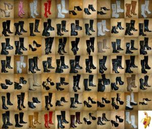 Chaussures bottes et cuissardes de madame K à part