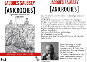 Couverture Anicroches Jacques Saussey
