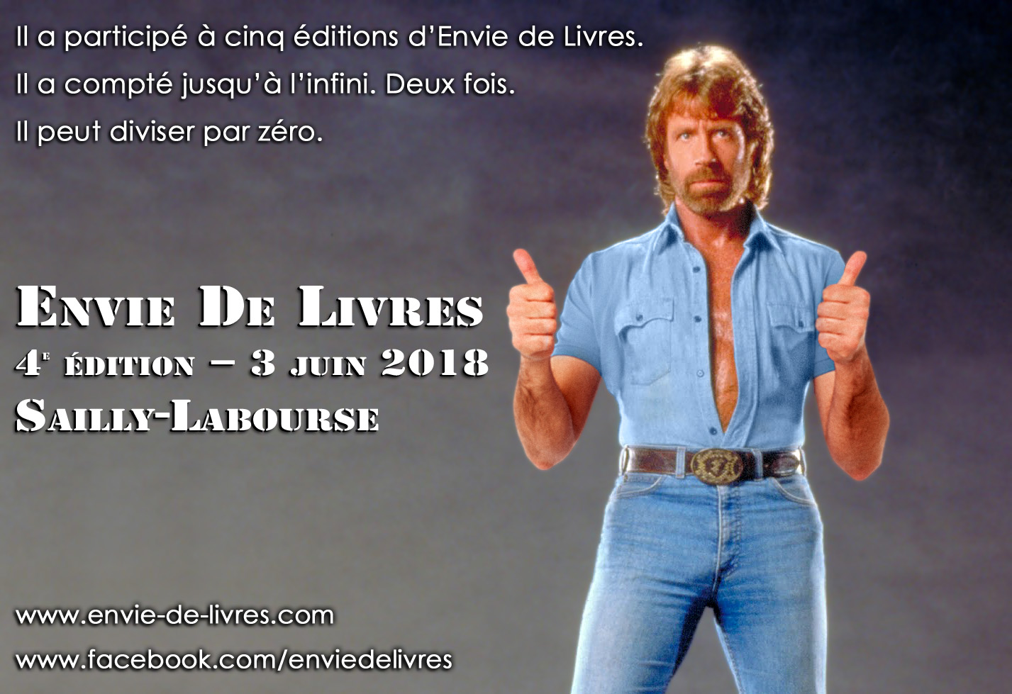 Chuck Norris thumbs up par Un K à part