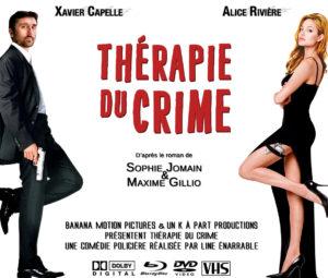 Affiche Thérapie du crime Angelina Jolie par Un K à part