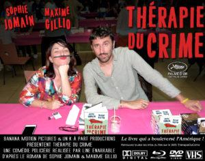 Affiche Thérapie du crime Sophie Jomain Maxime Gillio par Un K à part
