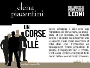 Couverture Un Corse à Lille Elena Piacentini