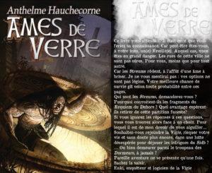 Couverture Ames de Verre Anthelme Hauchecorne