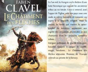 Couverture Le châtiment des flèches Fabien Clavel Pygmalion