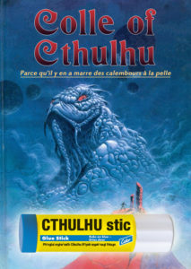 Détournement de couverture Colle of Cthulhu par Un K à part