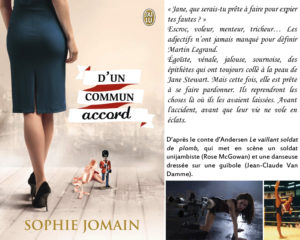Couverture D'un commun accord Sophie Jomain