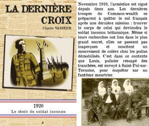 Couverture La dernière croix Claude Vasseur Pôle Nord éditions