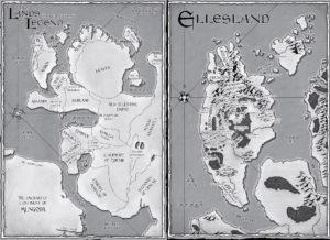 Carte Terres de Légende