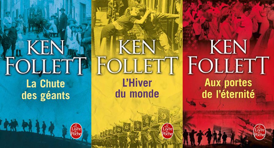 Couvertures Trilogie du siècle Ken Follett